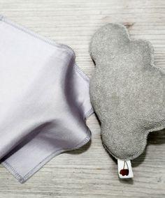 Mimosa - Iceicebaby Doudou polštářek. Doudou, první nezbytný přítel vašeho miminka, věc, kterou z ručky jen tak nepustí.
