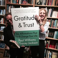 Paul Williams and Tracey Jackson collaborate on new book that uses the principles of the recovery movement to help just about anybody Longtime friends—the pair first met in Robert Mitchum's bedroom in 1982—Paul Williams (yes, that Paul Williams, the Oscar-, Grammy- and Golden Globe-winning Hall of Fame songwriter) and Tracey Jackson (who write the films…