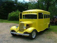 Custom 32 Ford School Bus Streetrod