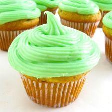 Emerald Isle Pistachio Cupcakes