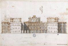 Proyecto para un palacio o villa. Alzado  (1707)  JUVARRA, Filippo (Messina, 1678 - Madrid, 1736)