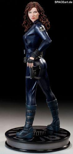 Iron Man 2: Black Widow - Premium Format Figur, Fertig-Modell ... http://spaceart.de/produkte/irm016.php