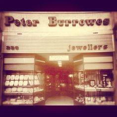 Peter Burrowes Jewellers way back when. Now Watchwarehouse's flagship store.