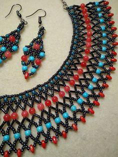 Mreža od perlica - 'bead netting' - Igra staklenih perlica