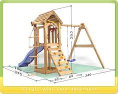 Portique en plein air Wickey Tarzan's Hut Plus Kids Outdoor Playground, Preschool Playground, Playground Set, Backyard House, Backyard For Kids, Pallet Kids, Diy Kids Furniture, Grades, Kids Play Area