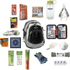 Car and Work Get Home Bag / Bug Out Bag and Survival Kit by OuttaGEAR