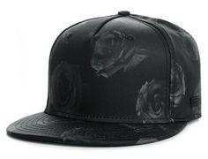 Black Roses Strapback Cap by BEASTIN Best Caps, Strapback Cap, Sneaker Stores, Snap Backs, New Wardrobe, Best Memories, Riding Helmets, Baseball Hats, Black Roses