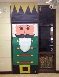 33 Amazing Classroom Doors for Winter and the Holidays : Bring some good cheer to your classroom with this holiday classroom doors and winter classroom door ideas. Then recreate them yourself! Christmas Door Decorating Contest, Holiday Door Decorations, School Door Decorations, Christmas Decor, Christmas Ideas, Xmas, Christmas Tree, Diy Sliding Door, Teacher Doors