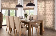 Jedáleň - kolekcia Rustika    #jedalen#rustika#vankuse#rimskaroleta#prestieranie Dining Chairs, Dining Table, Furniture, Home Decor, Ideas, Home, Living Room, Kitchens, Decoration Home