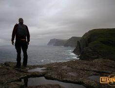 Hiking on Vágar, Faroe Islands