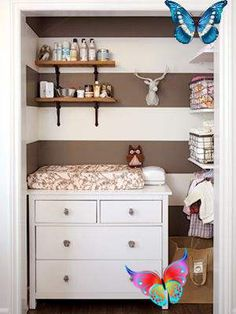 How to create a woodland nursery Nursery decor: forest-theme - Today's Parent<br> Pinterest just announced that the trendiest nursery theme for 2017 is...woodland! Here's how to create this gender-neutral theme for your baby's room. Baby Boy Nursery Decor, Baby Bedroom, Baby Boy Nurseries, Baby Decor, Woodland Nursery, Forest Nursery, Nursery Ideas, Deer Themed Nursery, Modern Nurseries