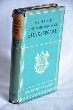 Book Six Plays by Contemporaries of Shakespeare by MrsandMisscurio