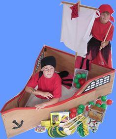 Kisteninhalt Fr Den Kindergeburtstag Piratenfest Piratengeburtstag