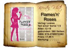 """Kiersten White hat mit """"Lebe lieber übersinnlich"""" eine rundum gelungene, mehr als unterhaltsame Fantasy-Welt geschaffen, die man nur lieben kann. Humor der Extraklasse, die richtige Mischung aus Lovestory und spannender Momente, gewürzt mit überraschenden Wendungen. Wer das alles für seinen Lesespaß braucht, kommt um Evie nicht herum.  5 Bücher für """"Flames'n'Roses"""".    Ein Must-Must-Must-Read für Fans aller Paranormalen, die nicht nur gut, sondern auch humorvoll unterhalten werden wollen."""
