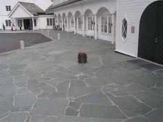 Bilderesultat for naturstein skifer ute Tile Floor, Routine, Flooring, Terrace, Natural Stones, Photo Illustration, Tile Flooring, Wood Flooring, Floor