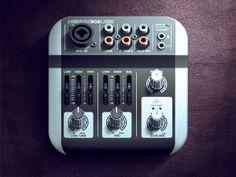 Mixer iOS Icon by Alex Bender, via Behance