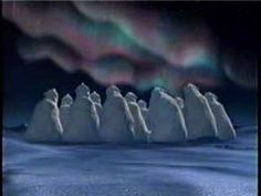 1993 Coca Cola Northern Lights commercial