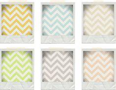 Freebie: Chevron Fabric Backgrounds