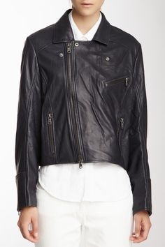 I just really really really want a leather jacket.