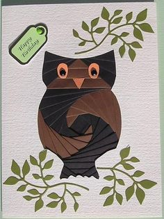 Iris Fold Owl