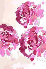 silhouette fiori peonia - Cerca con Google