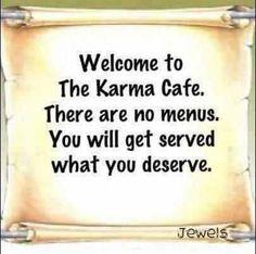 The Karma cafe:)...