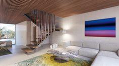 Apartment by destilat 02 - MyHouseIdea Stairs, Interior Design, Building, Home Decor, Palmas, Majorca, Interior Designing, House, Nest Design