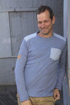 Shirt 'Föhr' - Schnittreif http://www.liiviundliivi.com/2017/03/nahen-fur-manner-albstoffe-meets-fohr.htmlShir
