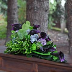 Grave Flowers, Begonia, Funeral, Floral Arrangements, Greenery, Plants, Photography, Gardening, Xmas