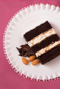 Cake Flavors and Fillings Menu – JustCake chocolate caramel almond wedding cake Almond Wedding Cakes, Wedding Cake Flavors, Cool Wedding Cakes, Wedding Cake Fillings, Cake Filling Recipes, Homemade Cake Recipes, Food Cakes, Cupcake Cakes, Best Cake Flavours
