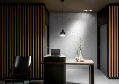 Reception desks are taking a drastic turn with the trend moving towards very minimal millwork or furniture. Okko Hotel - Patrick Norguet