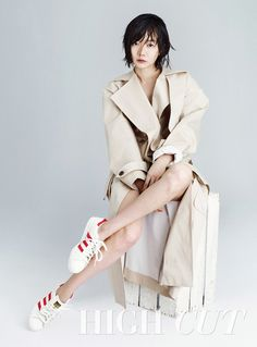 Bae Doo Na For High Cut Vol. 143 + More Of The Actress For Vogue Korea's February 2015 Issue | Couch Kimchi