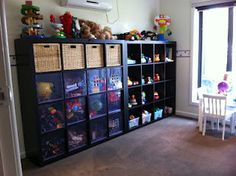 Great Storage for Kids Playroom