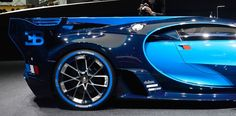 The Bugatti Vision Gran Turismo in the flesh at IAA (Credit: C.C. Weiss/Gizmag)