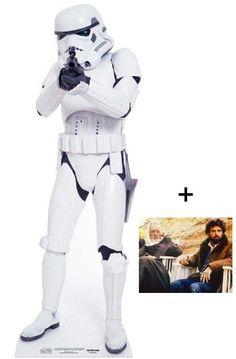 Stormtrooper Star Wars Lebensgrosse Pappfiguren / Stehplatzinhaber / Aufsteller - Enthält 8X10 (25X20Cm) Starfoto - #352 :: ztyle – Außergewöhnliche Geschenk-Ideen und Gadgets
