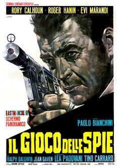 A Year of Spy Films 128/365 Il gioco delle spie (1966 Italy) aka Our Men in Bagdad The International Spy Film Guide Score: 8/10 #isfg #spyfilmguide #eurospy #rogerhanin #spymovie #spyfilm #rorycalhoun #robertopregadio