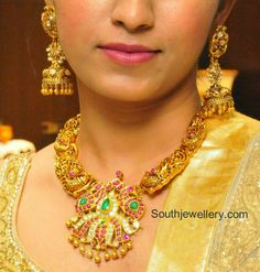 nakshi temple jewellery models