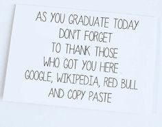 Congratulations Graduate , Funny Graduation Card, Graduate Card, Well Wishes, Congratulations smarty pants