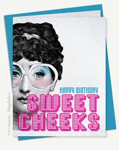 Happy Birthday Sweet Cheeks - Happy Birthday Funny - Funny Birthday meme - - Happy Birthday Sweet Cheeks Funny sarcastic birthday card Coordinating envelope Blank inside Size x The post Happy Birthday Sweet Cheeks appeared first on Gag Dad. Sarcastic Birthday, Birthday Wishes Funny, Happy Birthday Funny, Happy Birthday Quotes, Happy Birthday Images, Birthday Messages, Birthday Pictures, Happy Birthday Cards, Birthday Greetings