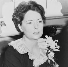 """Margaret Mitchell, pictured above in 1941, started writing while recovering from an ankle injury in 1926. She had read her way through most of Atlanta's Carnegie Library, so her husband brought home a typewriter and said: """"Write your own book to amuse yourself."""" The result was Gone with the Wind."""