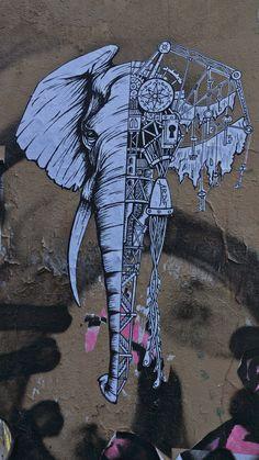 Ardif street art in Paris