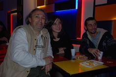 Hüsamettin Oğuz, Sosyal Medya Kulübünün her üyesiyle ayrı ayrı tanıştı, sohbet etti.