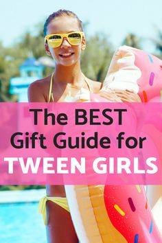 Tween Girls Gift Ideas - Tweens Gift Guide for presents they'll love - any occasion Birthday, Christmas. Tween Girl Party Ideas, Tween Girl Gifts, Fun Gifts, Best Gifts, Christmas Fun, Gift Guide, Presents, Gift Ideas, Birthday