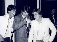 Young YOUNG Rob Lowe, Tom Cruise, and Emilio Estevez... : P