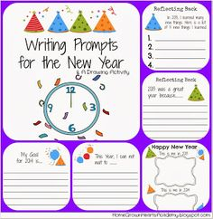 New Year's Resolution Classroom Activity