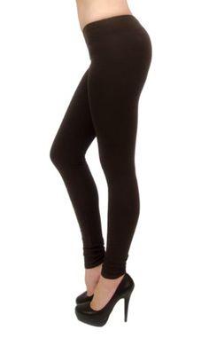 Vivian's Fashions Long Leggings - Cotton, Regular and Plus Size - http://cheune.com/a/33613924076780677