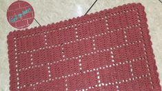 Filet Crochet, Rugs, Crochet Carpet, Bathroom Mat, Luxurious Rugs, Homemade Rugs, Crochet Doilies, Mosaics, Tejidos
