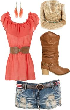 country concert outfit!, created by jory19 on Polyvore