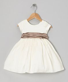 ONLY $78!!! Lovely little ladies will look darling in this dashing dress with delightful details and plenty of puff. A perfect piece for twirling on tiptoe, they'll be posing for pictures and practicing their princess wave all day.