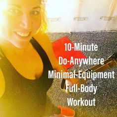 10-Minute Do-Anywhere Minimal-Equipment Full-Body Workout! Get moving!  #fullbodyworkout #workout #fullbody #quickworkout #trx #homeworkout #suspensiontrainer